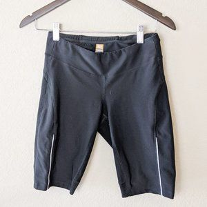 Lucy Black Stretch Biker Short Small